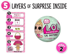 Load image into Gallery viewer, L.O.L Surprise Dolls Series 2 Lil Sisters Ball …