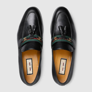 Men's loafer with Web and Interlocking G