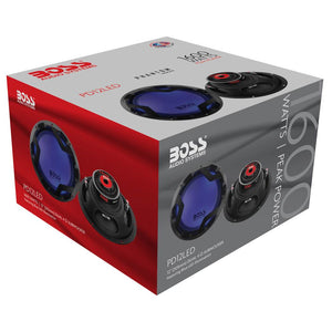 Boss Audio 12 Inch DVC 1600W Subwoofer w/ LED Illumination (2 Pack) | PD12LED