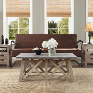 Better Homes & Gardens Granary Modern Farmhouse Coffee Table, Multiple Finishes