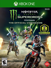 Load image into Gallery viewer, Monster Energy Supercross: The Official Video Game, Square Enix, Xbox One, WALMART EXCLUSIVE, 662248920566