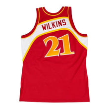 Load image into Gallery viewer, Dominique Wilkins 1986-87 Authentic Jersey Atlanta Hawks