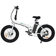 "Load image into Gallery viewer, Folding 20"" Fat Tire Electric Bike 500W Hill Bicycle Removable Battery Pedal Assist Power"