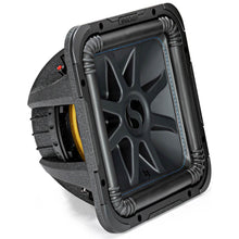 "Load image into Gallery viewer, Kicker Solo-Baric L7S 1500W 12"" 4 Ohm DVC Sealed or Ported Square Subwoofer"