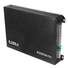 Load image into Gallery viewer, DC 12V Car 4 Channle 2000W Auto Audio Amplifier Power Stereo  Amp
