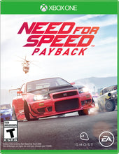 Load image into Gallery viewer, Need for Speed Payback, Electronic Arts, Xbox One, 014633370058
