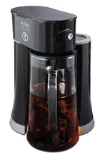 Load image into Gallery viewer, Mr. Coffee Tea Cafe 2-in-1 Iced Tea Maker with Glass Pitcher, Black