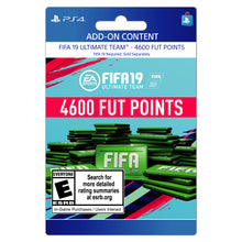 Load image into Gallery viewer, FIFA 19 4600 FUT POINTS, EA, Playstation, [Digital Download]