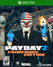 Load image into Gallery viewer, Payday 2: Crimewave, 505 Games, Xbox One, 812872018515