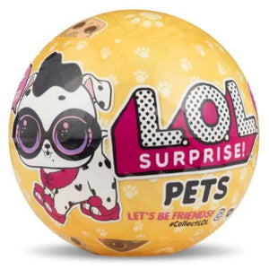 L.O.L. Surprise! Pets in a Tin, Includes 2 Collectible LOL Pets Dolls