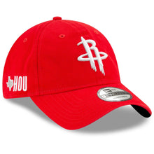 Load image into Gallery viewer, Houston Rockets New Era Team Localized 9TWENTY Adjustable Hat - RedHouston Rockets New Era Team Localized 9TWENTY Adjustable Hat - Red