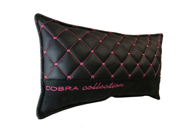 VIP Black & Pink Diamond Car Pillows Interior Set