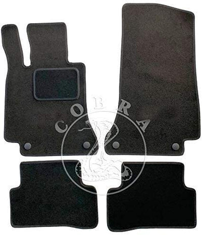 Floor Mats For Mercedes C Class W205 2015-2019