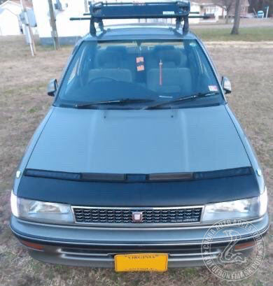 Hood Bra For Toyota Corolla 1988-1992