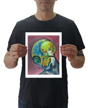 "Load image into Gallery viewer, Jose Cifuentes holding a 8x10"" print"