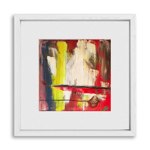 "BECAUSE | Framed Prints 12x12"" (Fits 8x8"" Print)"