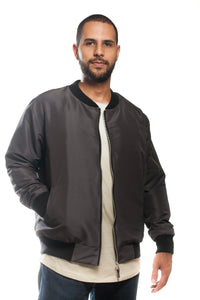 BFC BOMBER JACKET | DARK GREY