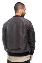 Load image into Gallery viewer, BFC BOMBER JACKET | DARK GREY