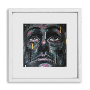 "HOPING FOR THE BEST | Framed Prints 12x12"" (Fits 8x8"" Print)"