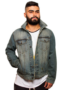 BFC DENIM JACKET | STONED WASH
