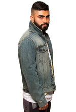 Load image into Gallery viewer, BFC DENIM JACKET | STONED WASH