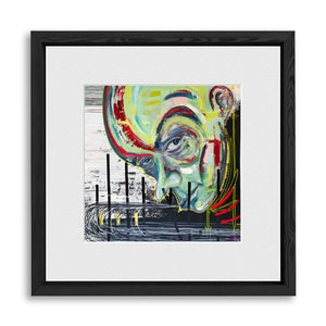 "MIND CHATTER | Framed Prints 12x12"" (Fits 8x8"" Print)"