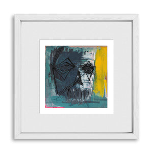 "REFLECTIONS I | Framed Limited Edition Prints 12x12"" (Fits 8x8"" Print)"