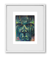 "Load image into Gallery viewer, SUBTLE TANGLES | Framed Prints 18x22"" (Fits 12x16"" Print)"
