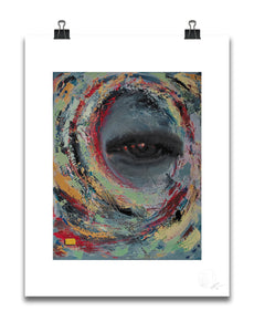 EYE STUDY | Limited Gliclée Art Prints