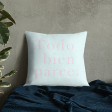 Load image into Gallery viewer, TODO BIEN PARCE | Premium Pillow Pastel Blue