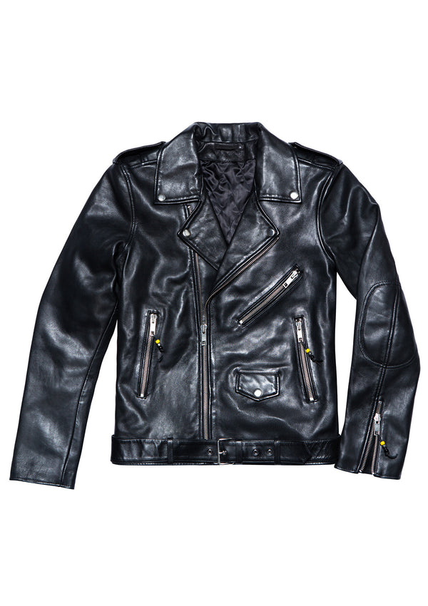 LEATHER JACKET 5 BLACK