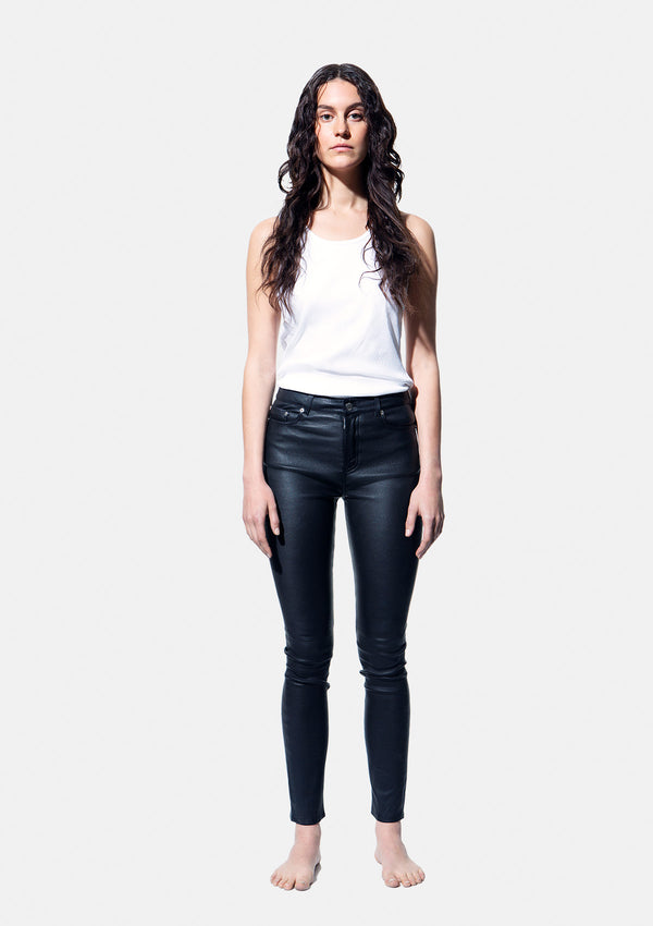 LEATHER PANT 82 BLACK