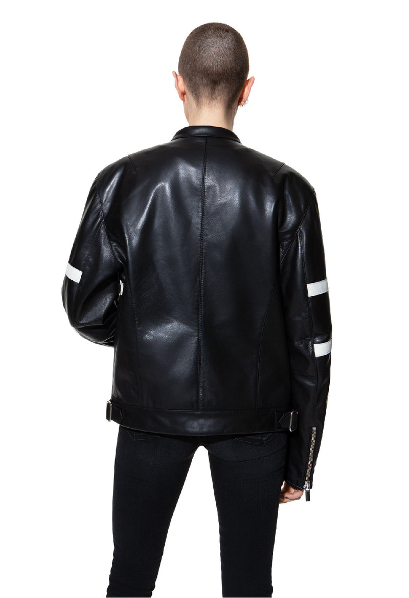 Leather jacket 56 BLK DNM