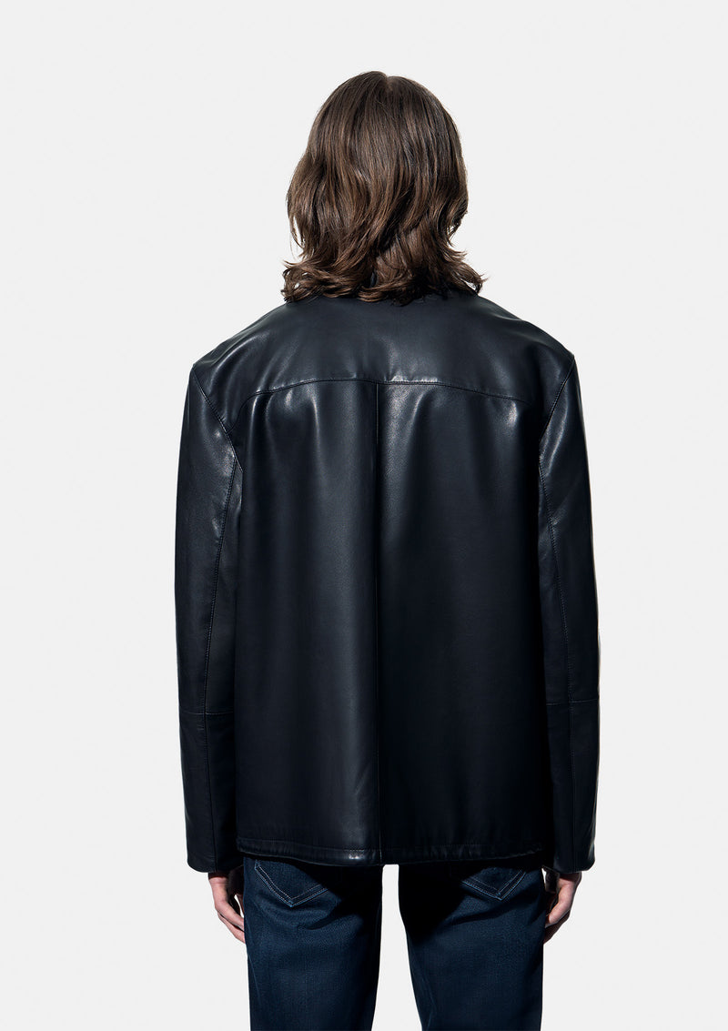 Leather jacket 55