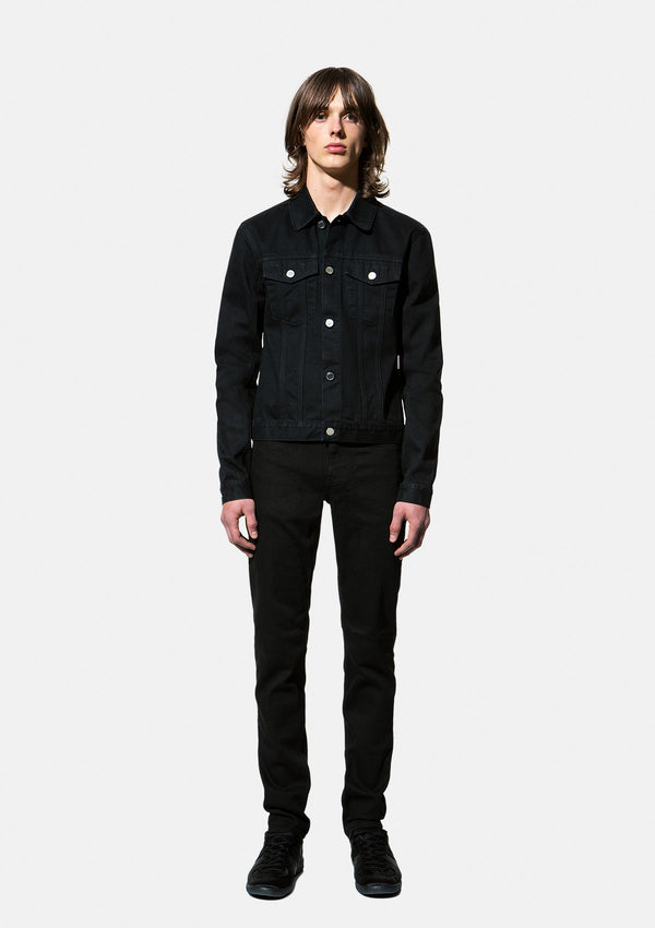 JEANS JACKET 5 IRVING BLACK