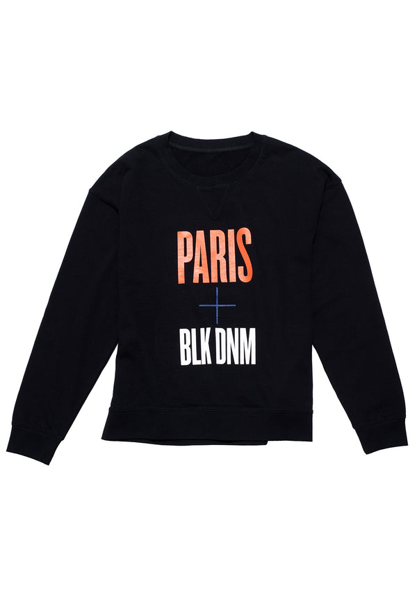 Sweatshirt 55 Paris + BLK DNM