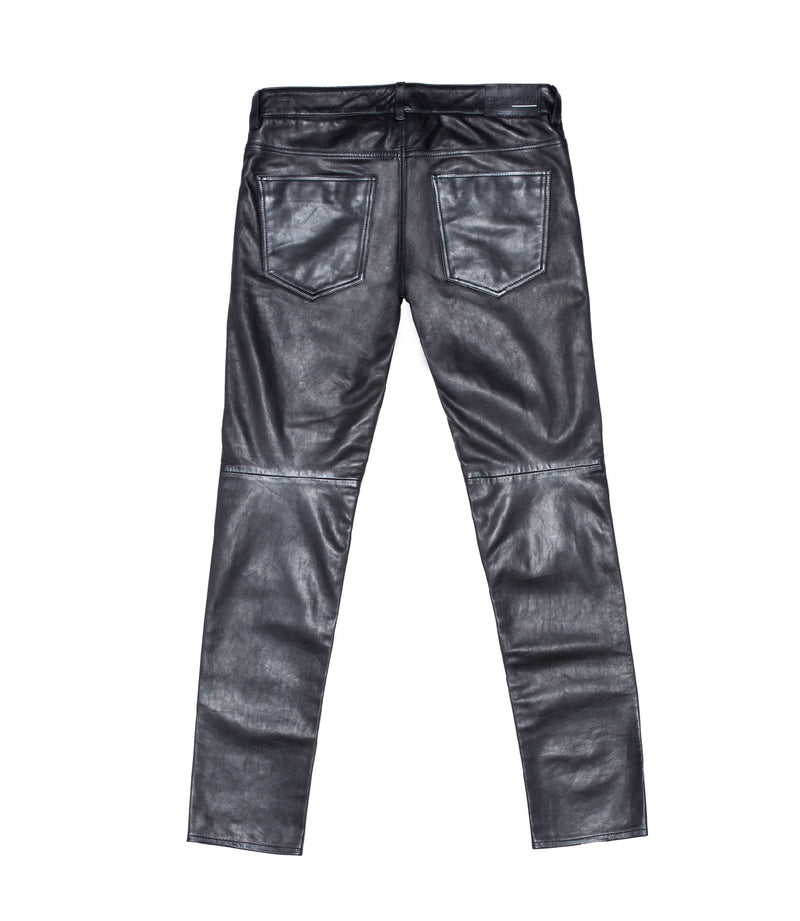 Leather pant 25 Black