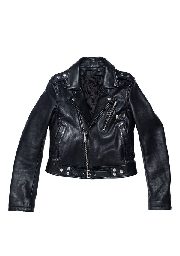 LEATHER JACKET 1 BLACK