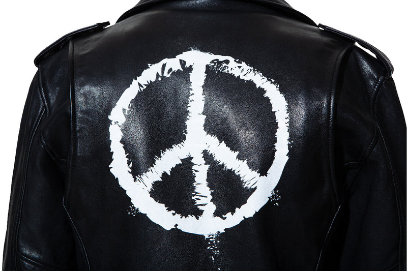 Leather jacket 5 Peace