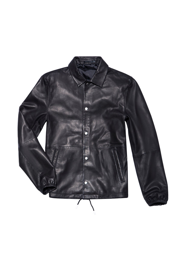 LEATHER JACKET 55 BLACK