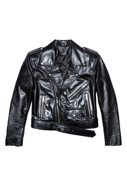 LEATHER JACKET 18 BLACK