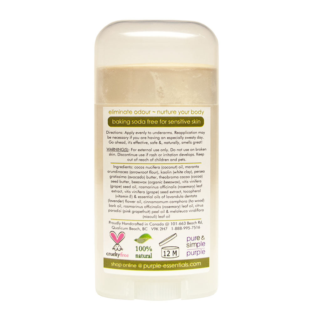 Natural Deodorant Fresh & Clear