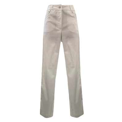 STRETCH SATIN COTTON PANTS / PANTALONE IN SATIN DI COTONE STRETCH