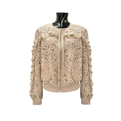 LACE BOMBER / BOMBER IN PIZZO