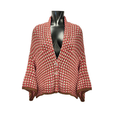 KNITTED CARDIGAN / CARDIGAN IN MAGLIA