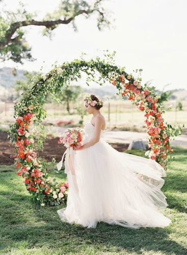 Round Metal Wedding Arch