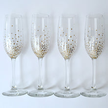 Load image into Gallery viewer, Handpainted Champagne Flutes