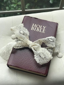 Vintage Ring Bearer Bible