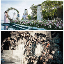 Load image into Gallery viewer, Outdoor Wedding Double Round Arch