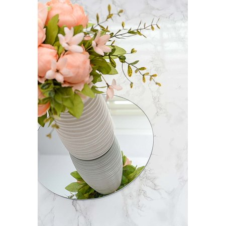 Round Centerpiece Mirrors: Set of 24